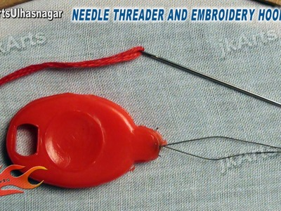 Needle Threader and Embroidery Hoops for Beginners (#1) - JK Arts 553