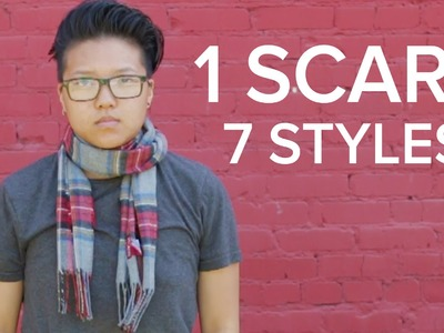One Scarf, 7 Styles