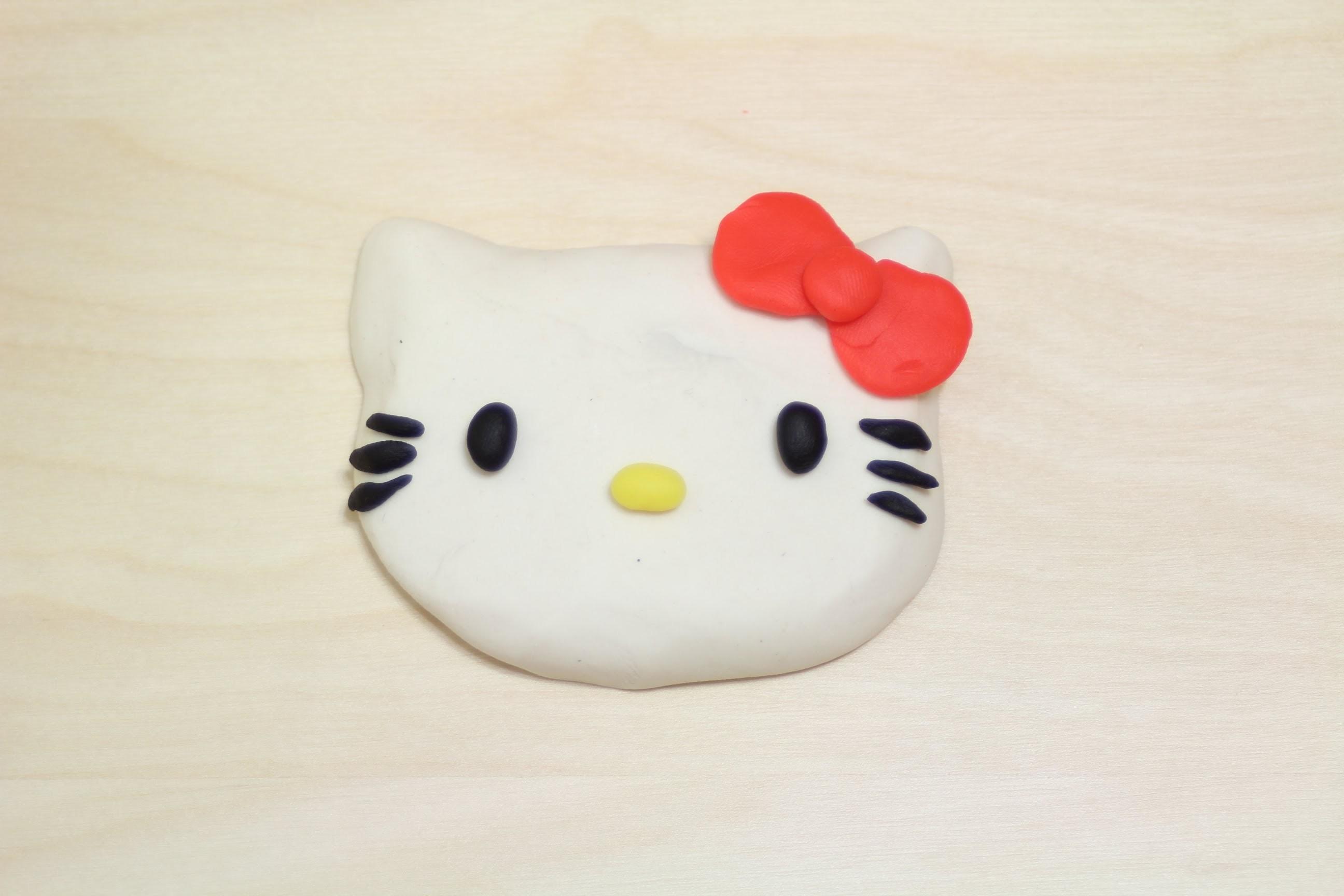 Play-Doh Hello Kitty Easy! How to Make Sanrio Hello Kitty Cake Fun to Make
