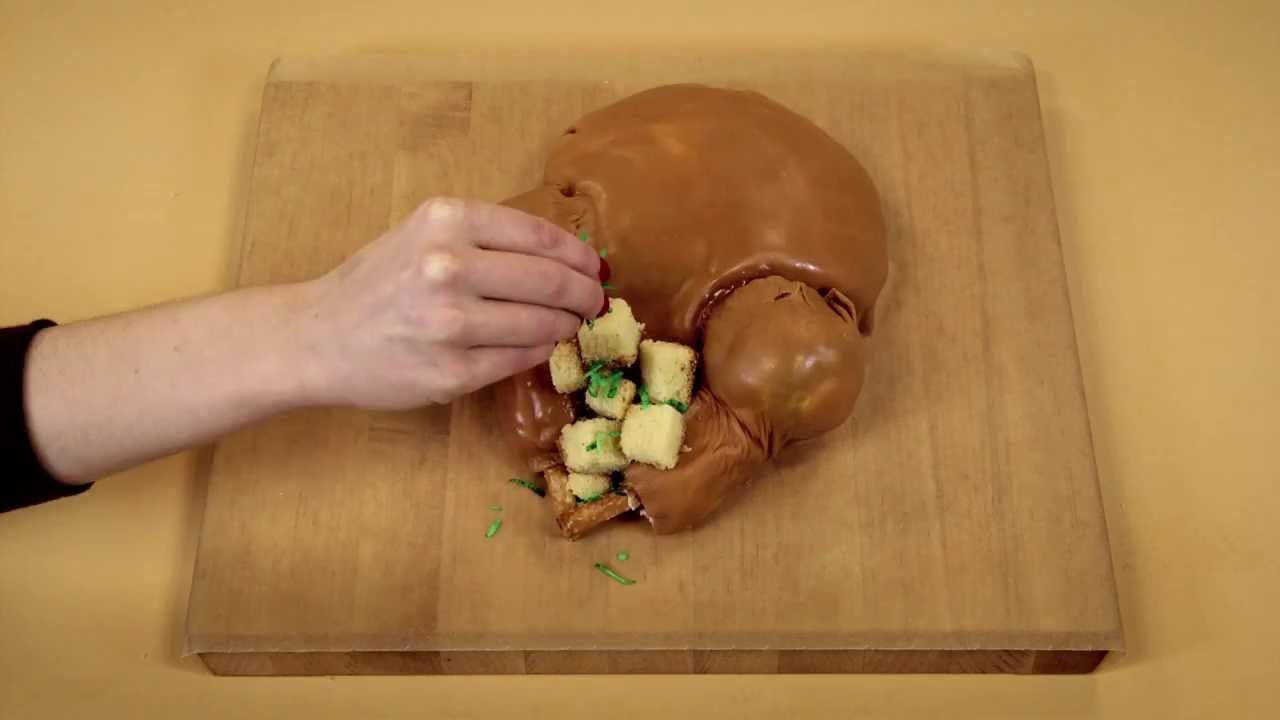Turkey Cake Stop Motion Animation