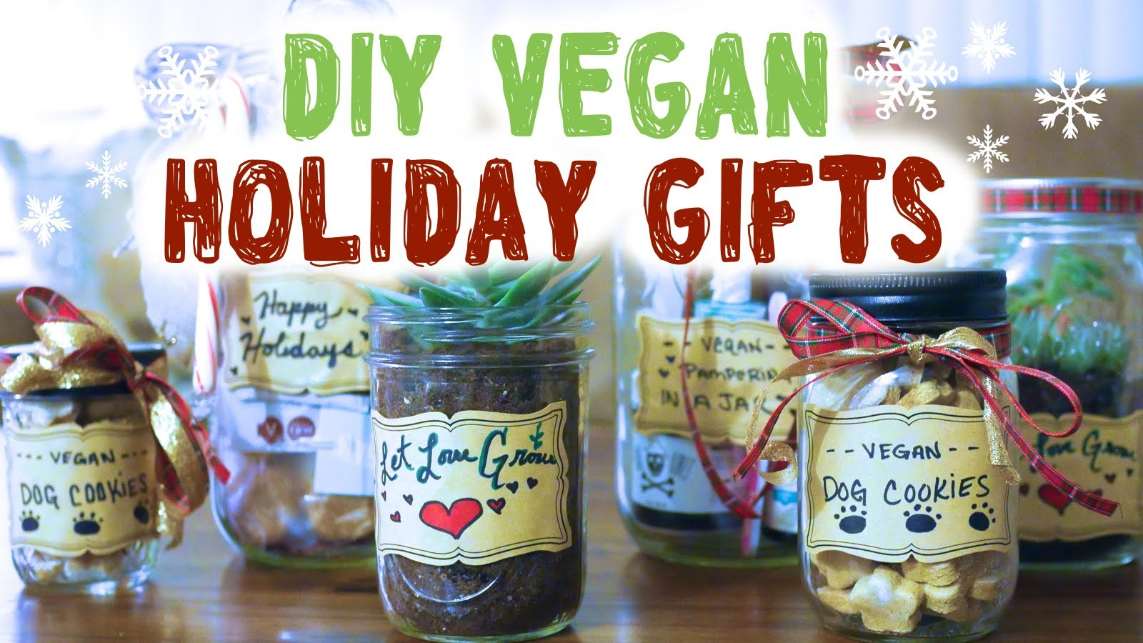 Vegan Holiday Ideas ❄ DIY Mason Jar Gifts