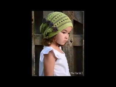 Woodland Slouchy Hat for Toddler &Child&Adult  -  Slouchy Crochet Pattern Presentation1