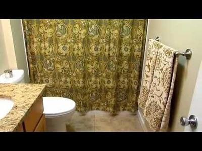 An Organized Home: Small Bathroom Organization and Storage
