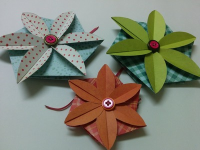 Art and Craft: How to make Flower envelope. card