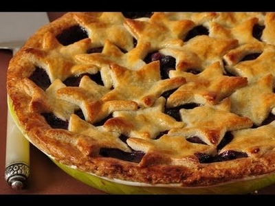 Blueberry Pie Recipe Demonstration - Joyofbaking.com