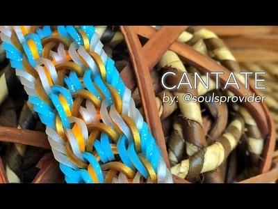 CANTATE Hook Only bracelet tutorial