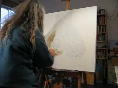 Carla van den Berg, how-to 10 -mixed media technique