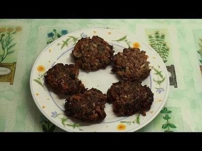 Chapli Kebab Recipe - Part 6 of the Desi Kebab-a-thon