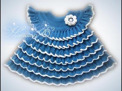 Children: dresses. Free Crochet Patterns for Children