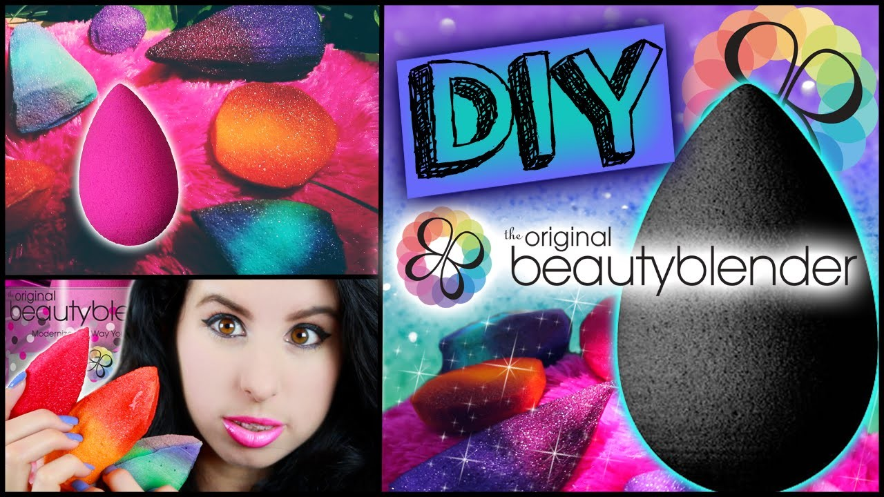 DIY Beauty Blender! | Make Your Own Beauty Blender! | Cheap & Easy To Make in Minutes!