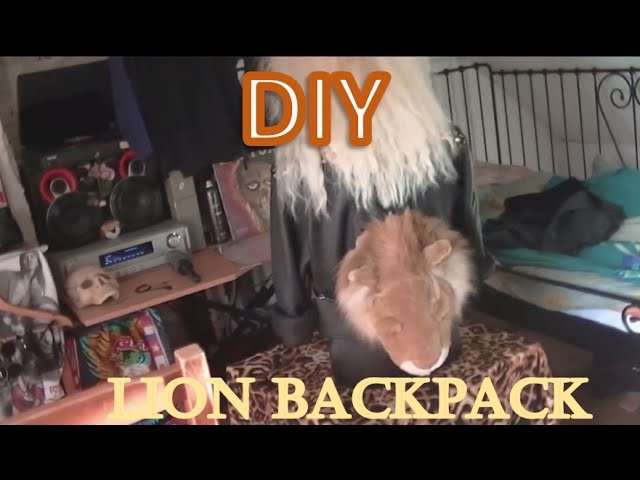 DIY: From a stuffed animal to a backpack how-to