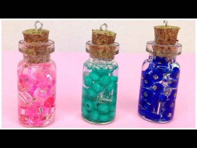 DIY Glass Jar Pendants !! (Kawaii)