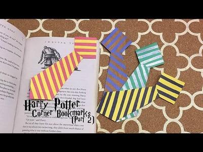 DIY Harry Potter corner bookmarks | Part 2