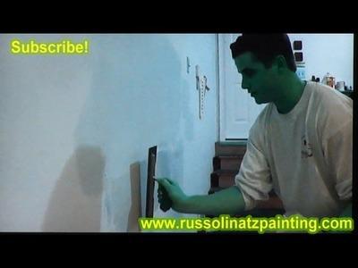 DIY Hawk and Trowel Techniques for Skim Coat (Part 3) - Drywall Repair Videos