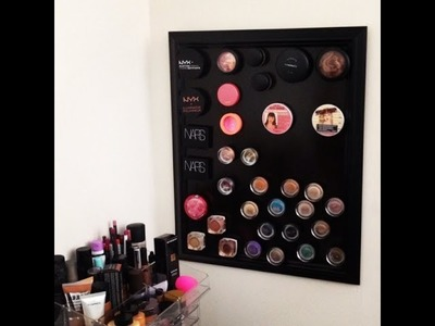 DIY: Magnetic Makeup Board (Mar 2014)