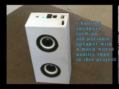 DIY Portable Mini Speaker