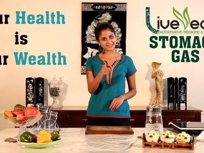 DIY: Stomach Gas Relief with Natural Home Remedies   LIVE VEDIC