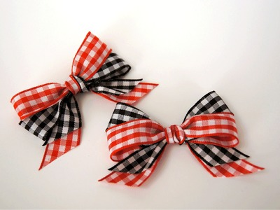 Double Looped Bow with a Twist