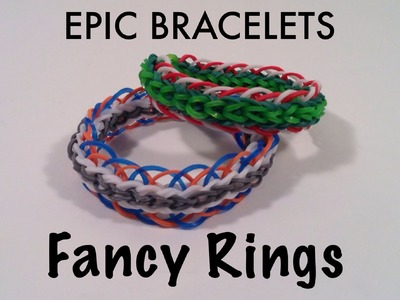 Fancy Rings Bracelet Tutorial