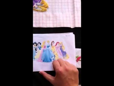 First cross stitch video