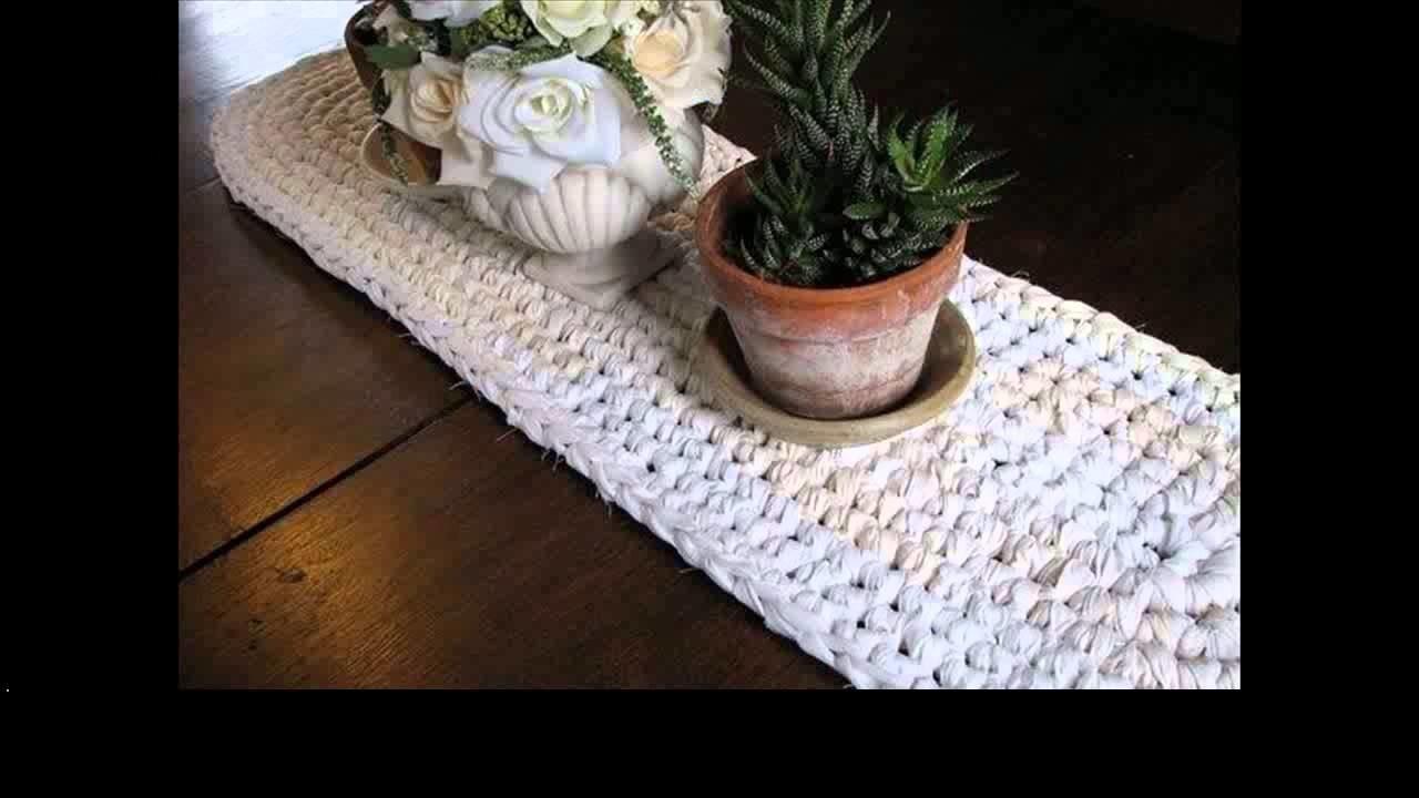 Free crochet crochet tablecloth pattern