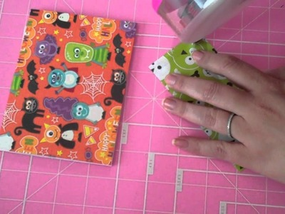 Hand over the Candy! Cute Monsters Halloween Card