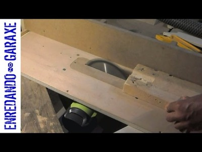 Homemade table saw with lift, part 1