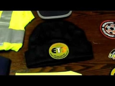 How to apply iron on embroidered badges