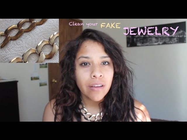How to Clean Gold or Silver Jewelry ? FAKE GOLD.SILVER JEWELRY