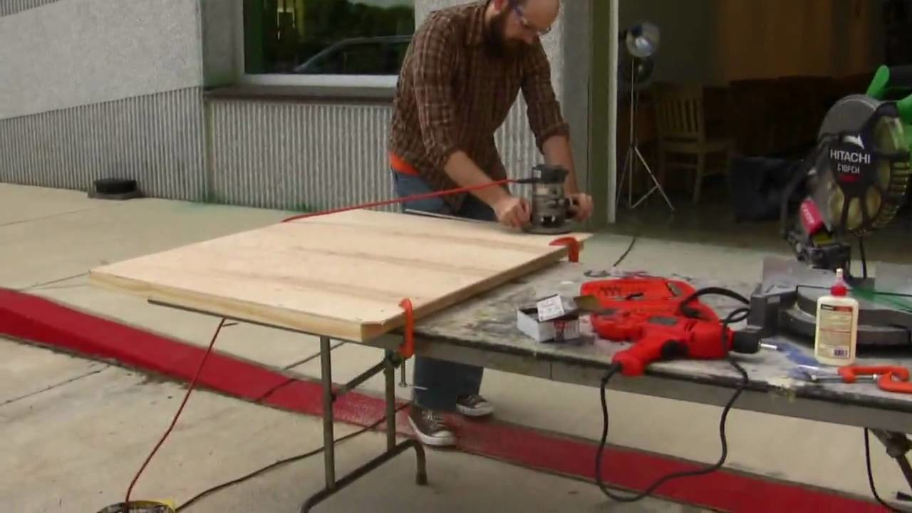 How to Cradle a Wood Panel Part 4 HD!