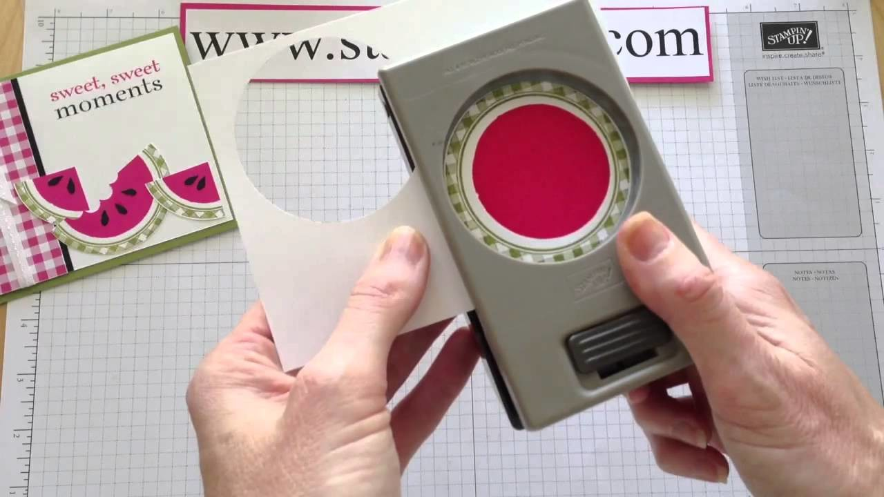 How to Create a Watermelon Card using the Kind an Cozy Stamp Set