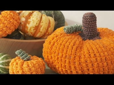 How To Crochet Small Pumpkin