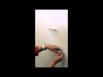 How to: DIY Wall Xmas Tree