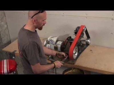 How to Make a Custom Knife Blade : Custom Knives: Profiling the Blade