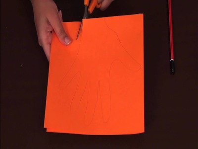 How to make a Hand Print Sun - Arts and Crafts