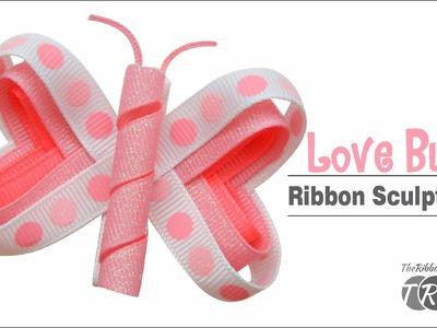 How to Make a Love Bug Ribbon Sculpture - TheRibbonRetreat.com