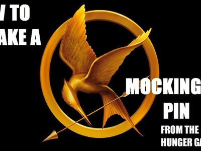 How to make a MockingJay Pin (From the Hunger Games)
