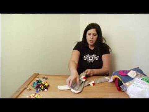 How to Make a Monkey Sock Puppet : The Anatomy of the Sock for Sock Puppets