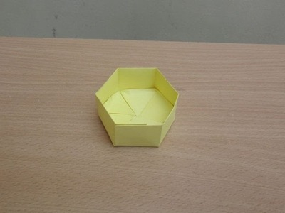 How to Make a Paper Hexagon Box - Easy Tutorials