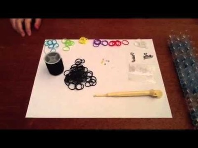 How to make a rainbow loom (beaded starburst charm bracelet