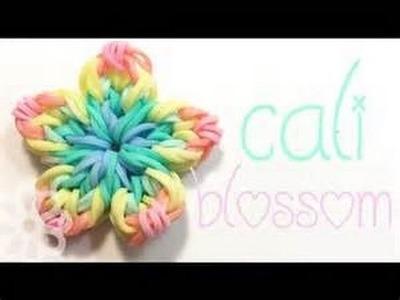 How To Make A Rainbow Loom California Blossom