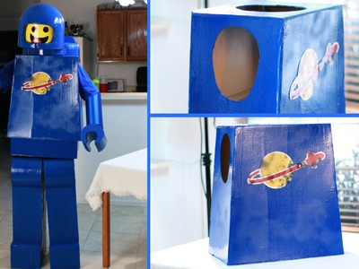 How to make an Awesome Lego Man Costume - Body (Lego Movie Benny)