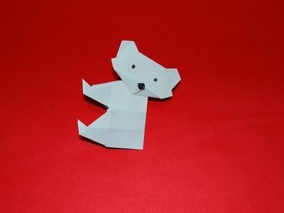 How To Make An Origami Koala Bear
