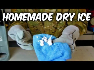 How to Make Dry Ice at Home?