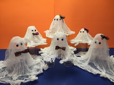 How To Make These Cute Ghost Tutorial