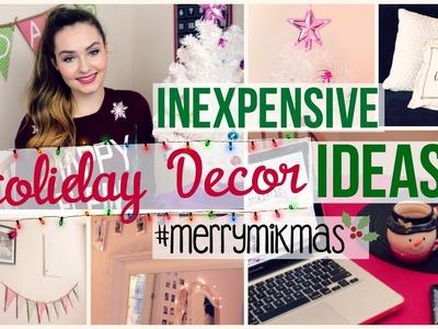 Inexpensive Holiday Decor Ideas! #MerryMikMas