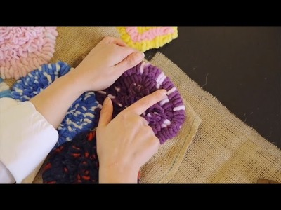 Learn How To Make  A Loop Stitch with Craft Yourself Silly