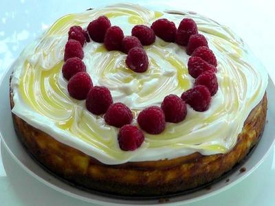 Lemon Cheese Cake How to make easy recipe