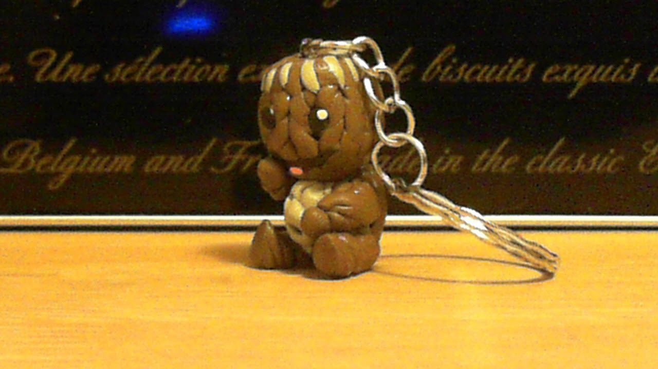 Let's make cute Sackboy keychain with polymer clay!