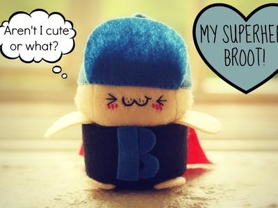 Meet Aiko's Super Hero (Tiny plushie update)